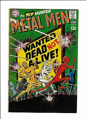 "Metal Men #34  [1968 Vg-]  ""wanted Dead, Not Alive!"""