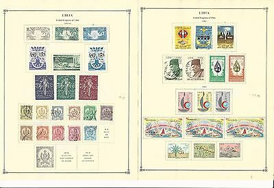 Libya Collection 1959-1965 on 7 Scott International Pages