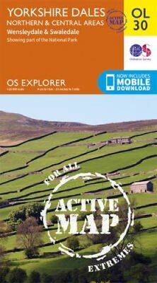 Yorkshire Dales Northern & Central by Ordnance Survey 9780319475379