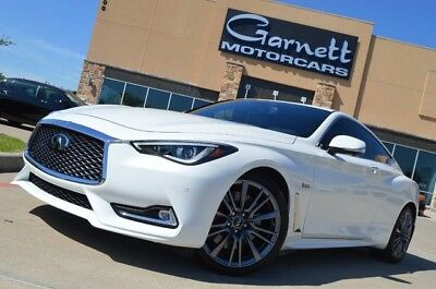 2017 Infiniti Q60 Red Sport Coupe 2-Door 2017 INFINITI Q60 * $61K NEW * SAVE HUGE! PRISTINE CAR! LIKE NEW! CALL TODAY!