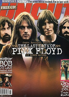 Uncut  85  Pink Floyd    Morrissey  The New York Dolls   CD INC