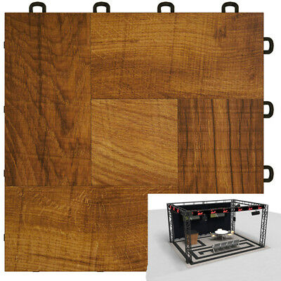 Trade Show Floor Options Red Wood Style - 10'x10'