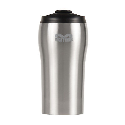 Mighty Mug Solo Travel Mug Anti Spill No Tip Over Stainless Steel 320ml