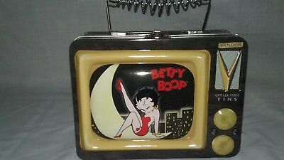 King Features Betty Boop VANDOR Collectible Tins Lunch Box  2000 EUC