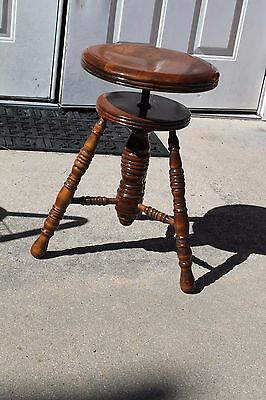 Antique Organ Stool