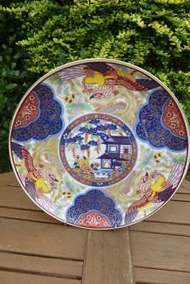 Decorative Large Imari Ware Plate