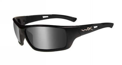Wiley X ACSLA01 Slay Black Ops Medium Matte Frame Smoke Grey Lens ANSI Approved