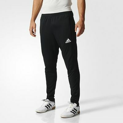 NEW Adidas Tiro 17 Men's Training Pants Climacool / Soccer Black / White BK0348