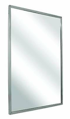 Bradley 780-018360 Float Glass Angle Frame Mirror Welded Corners Theft Res Mount
