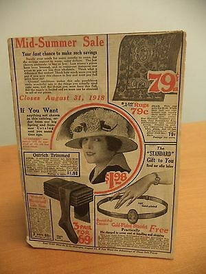Standard Mail Order Co. Color Catalog NYC Summer 1918 106 pages
