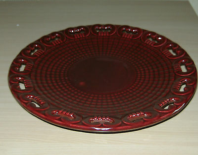 Grand Plat / Coupe Annees 50 Faïence St Clement France Signe B.letalle Numerote