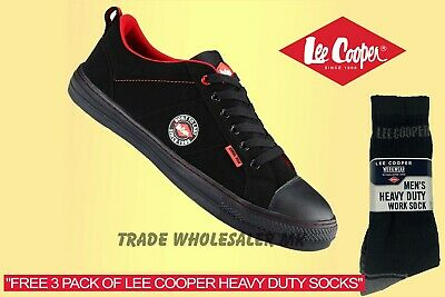 Men's Lee Cooper  Safety Work Boots Steel Toe Cap Shoes Trainers Size 3-13
