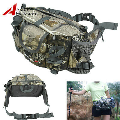 Tactical Outdoor Fishing Waist Bag Bionic Camouflage Camping Fanny Pack Sport