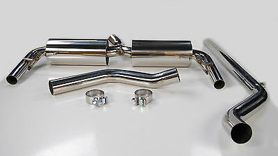 Exhaust System From Cat For Renault Clio Rs 200 Mk3 2.0 2010-2013