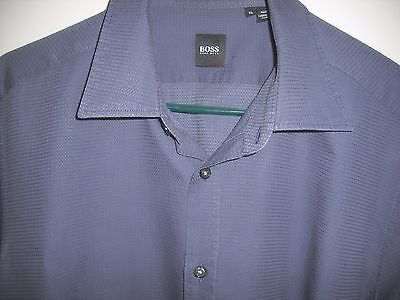 Hugo boss slim fit casual button shirt multi color check for Nice mens button up shirts