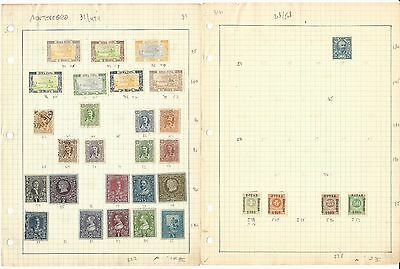 Montenegro Collection on 3 Pages, Neatly Identified, All Different