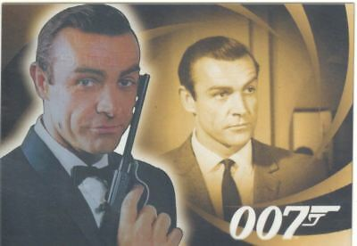 James Bond Heroes & Villains The Men Of James Bond Chase Card B1