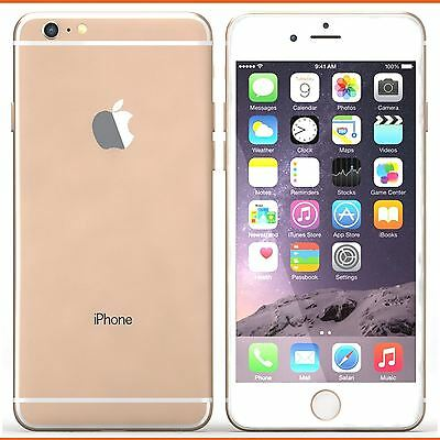 "APPLE IPHONE 6 6S Plus "" FACTORY UNLOCKED "" 16 64 128GB Rose Gold Smartphone A++"