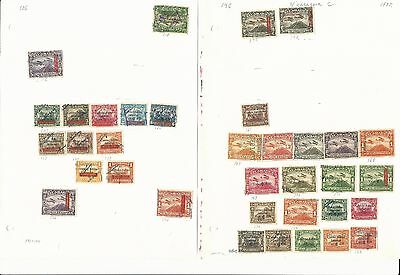 Nicaragua Collection Back of Book 1896-1970, 40 Pages