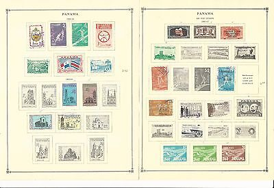 Panama Collection 1960-1965 on 6 Scott International Pages