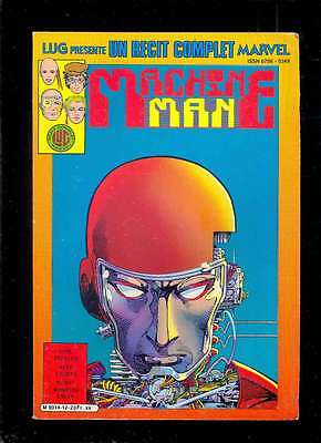 Barry WINDSOR-SMITH Machine Man, Lug présente un récit complet Marvel n°12 1986
