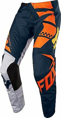 NEW 2018 FOX Racing MX Motocross Youth 180 SAYAK Pants Orange Size 22