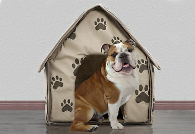Portable Decorative Comfortable Soft Sided Indoor Collapsible Dog House