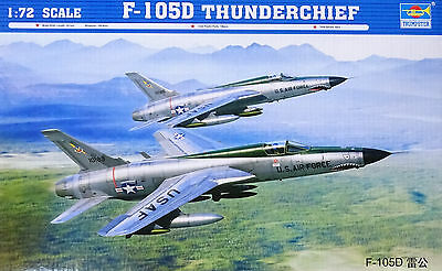 TRUMPETER® 01617 F-105D Thunderchief in 1:72