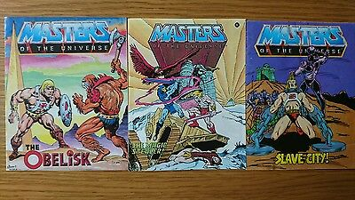 He-Man And The Masters Of The Universe 3 Mini Comics @# 1 2 3 4 5 6 7 8 9 0