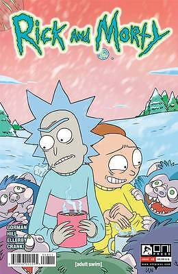 Rick and Morty #8 Gorman Cannon 1st Print Oni Comic Book NM  wh