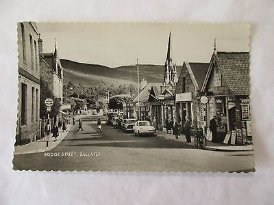 old rp postcard bridge street  ballater (unposted)