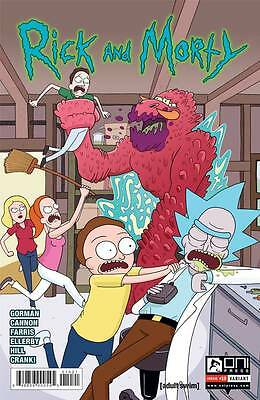 Rick and Morty #10 Variant Ellerby Gorman Cannon 1st Print Oni Comic Book NM  wh