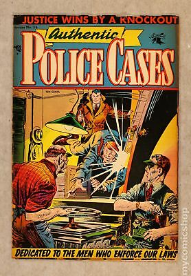 Authentic Police Cases (1948) #36 GD 2.0