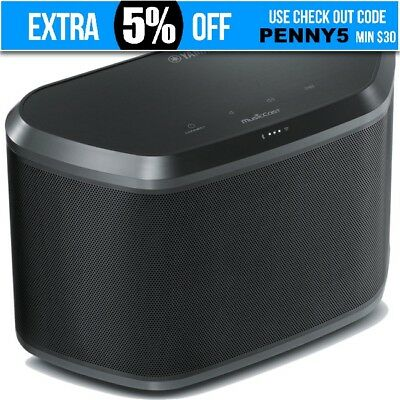 OZSTOCK YAMAHA +MC BLACK MUSICCAST AMP SPEAKER Wi-Fi Bluetooth  WX030B