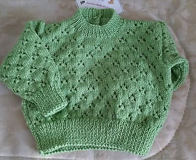 Baby Jumper - Size 000 - Pure Wool