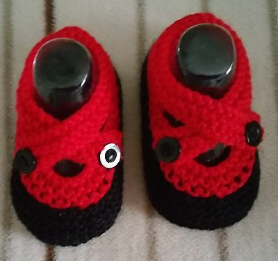 Handknitted Baby Shoes/Booties