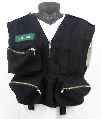 Deenside Flame Resistant First Aid Medic Paramedic Chest Equipment Vest H4 SB83