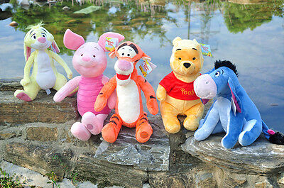 16inch Official store Winnie the Pooh Plush soft Toys Stuffed Kids Birthday Gift