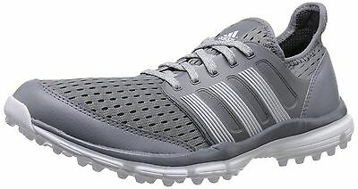 new style a0f45 69518 ADIDAS Climacool Golf Spikeless Shoes Light Gray Mens Sizes 9.5 10 10.5 NEW