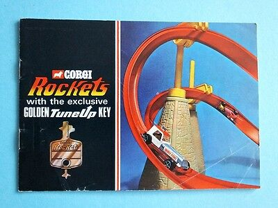 CORGI  Rockets Catalogue Katalog 1970 16 Seiten  in GB