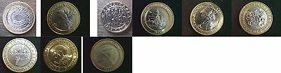 2 Pound 2015 onward Coin Hunt READ DESCRIPTION Discounts available up to 10%