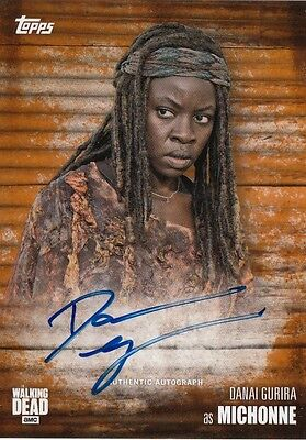 The Walking Dead Season 6 - Danai Gurira (Michonne) Autograph Card 99/99