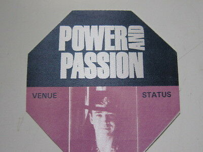 STEVIE RAY VAUGHAN  Power and Passion  Backstage Pass