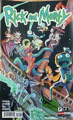 Rick and Morty #12 Variant Rodriguez Fowler 1st Print Oni Comic Book NM  wh