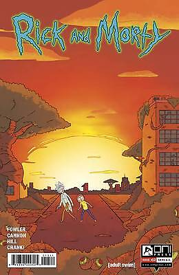 Rick and Morty #13 Cannon Fowler 1st Print Oni Comic Book NM  wh