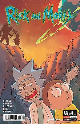 Rick and Morty #16 Cannon Starks 1st Print Oni Comic Book NM  wh