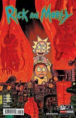Rick and Morty #16 Variant Nixey Cannon Starks 1st Print Oni Comic Book NM  wh