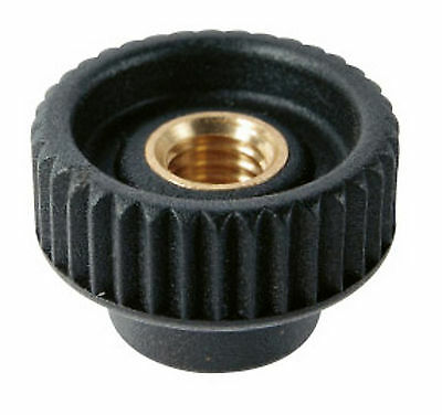 Knurled Thumb Knob Through Thread