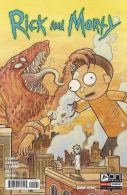 Rick and Morty #19 Variant Howard Starks Cannon 1st Print Oni Comic Book NM  wh
