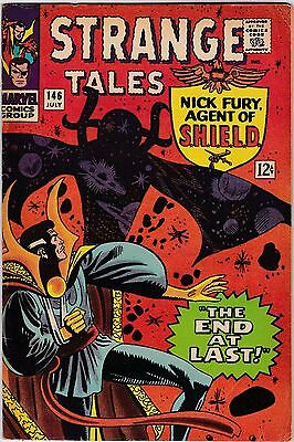 Strange Tales #146, July 1966! Very Good/fine Condition! Silver Age Classic!